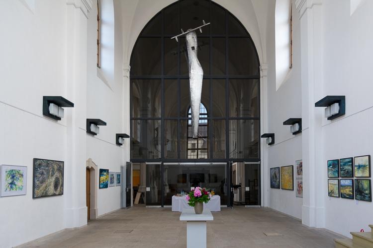 """""""Farbfinder"""" in der Petrikirche in Freiberg"""