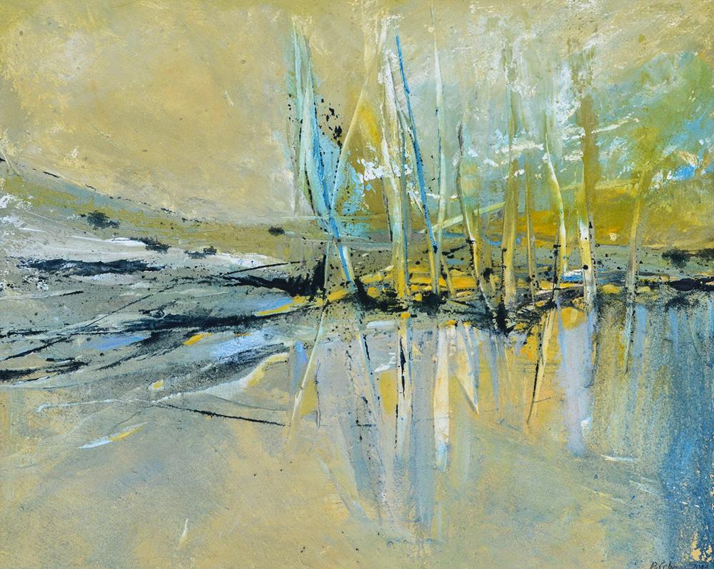 Erden / Sande / Acryl auf Leinwand 2013 / 50 x 60 cm