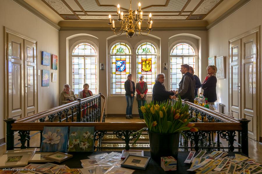 """Ausstellung des Radeburger Malkurses """"Blickfang"""""""
