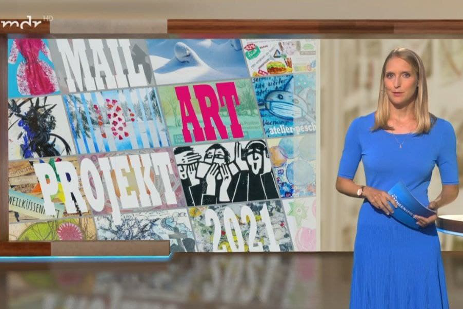 Read more about the article Mail Art Projekt – MDR Sachsenspiegel