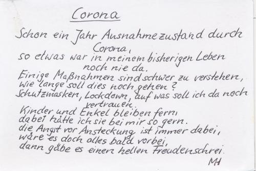 Corona - Monika Hüske